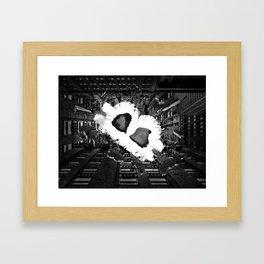 The Dark Bitcoin Framed Art Print