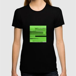 Green Monochromatic T-shirt