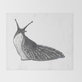 Slug - Vulpecula Throw Blanket