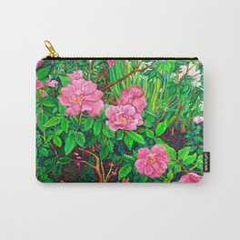 View of Rosa Rugosas (Moje Hammarberg) Carry-All Pouch