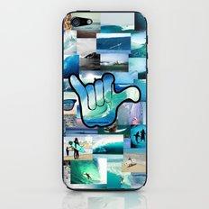 Carlyfornia Surfer iPhone & iPod Skin