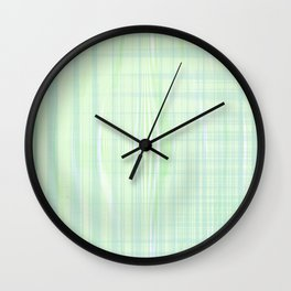 Looks like water droplet when you see from afar falling down the stripy background Wall Clock