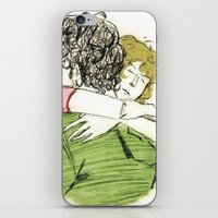 les mis iPhone & iPod Skins featuring ExR Hug les mis by Pruoviare