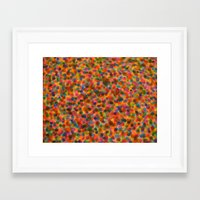 dots Framed Art Prints featuring dots... by j.Webster