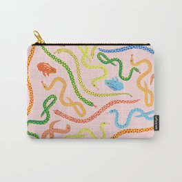 Snakes and Frogs Carry-All Pouch