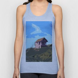 A Beautiful house on the hill Unisex Tank Top
