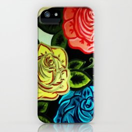 Rose Mural (Part One) iPhone Case