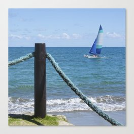 Idylic sea scape Canvas Print
