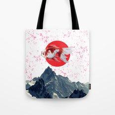 Japanese Fish Tote Bag