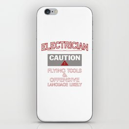ELECTRICIAN Safety iPhone Skin
