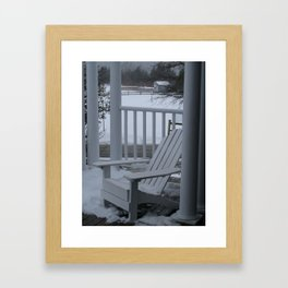 Winter Seaside 2 Framed Art Print