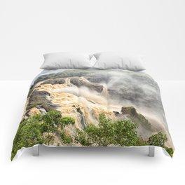 Barron Falls under a summer sky Comforters