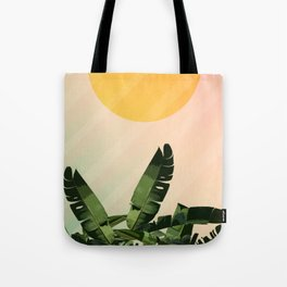 Sunny heliconia Tote Bag