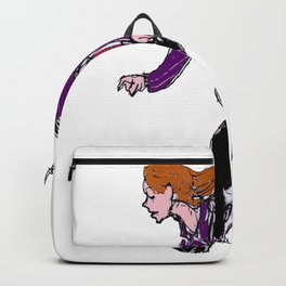 On the GO with her Society 6 Tote Bag             by Kay Lipton Backpack