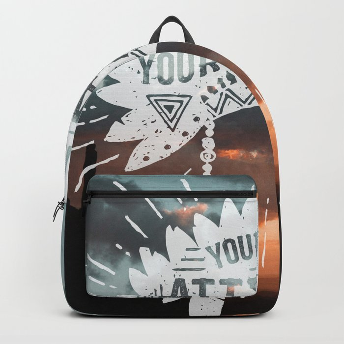 Your Vibe Attracts Your Tribe - Monument Valley Backpack