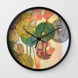 Across The Sunset Wall Clock