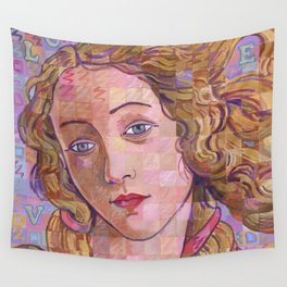 Variations On Botticelli's Venus – No. 4 (Iridescence) Wall Tapestry