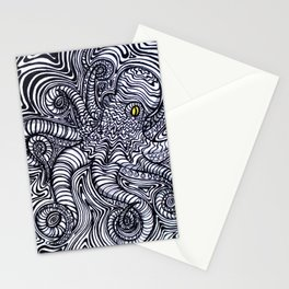 Oct-ipal Illusion Stationery Cards