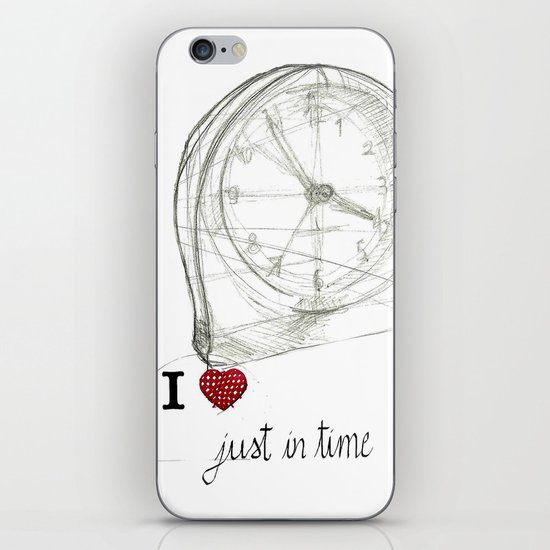 Just in time iPhone & iPod Skin