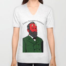 James Abaddon Garfield Unisex V-Neck