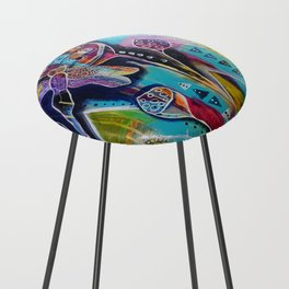 Dragonfly Counter Stool