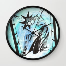 Libra - Zodiac signs series Wall Clock