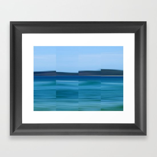 Land Ahoy Framed Art Print