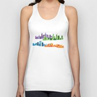 cities Tank Tops featuring Australian Cities by S. Vaeth
