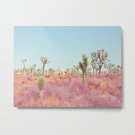 Surreal Desert - Joshua Tree Landscape Photography Metal Print