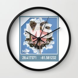 Photographic Element for Main Street USA Wall Clock
