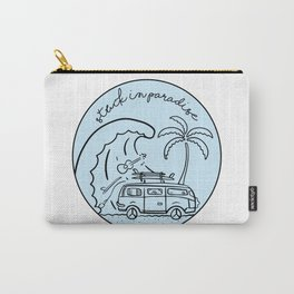 Stuck in Paradise Carry-All Pouch