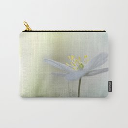 Irresistible Wood Anemone.... Carry-All Pouch