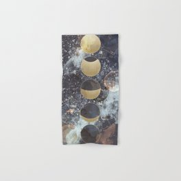 Lunar Phases Hand & Bath Towel