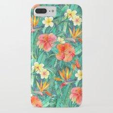 Classic Tropical Garden Slim Case iPhone 7 Plus