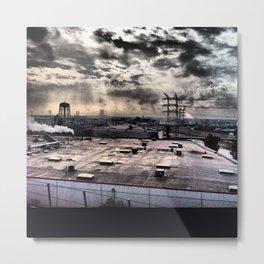 L.A. Metal Print