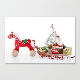 Santa Claus decor Canvas Print