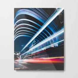 Light trails Metal Print