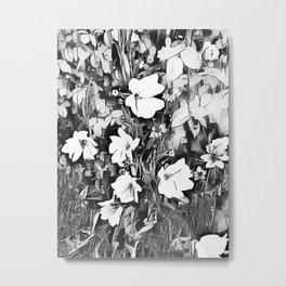 The Flowers Metal Print