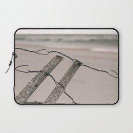 Santa Rosa Beach fence Laptop Sleeve