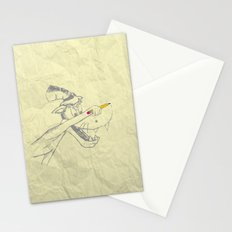 I am the Bad Wolf and I create myself!! Stationery Cards