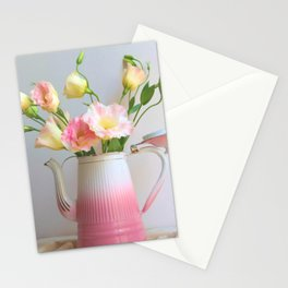 Coffee, Tea or Flowers Stationery Cards