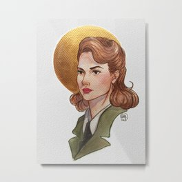 Let me hear you say, Hey, Ms. Carter Metal Print
