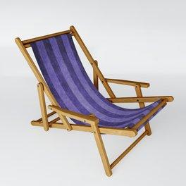 Lavender Stripes Sling Chair