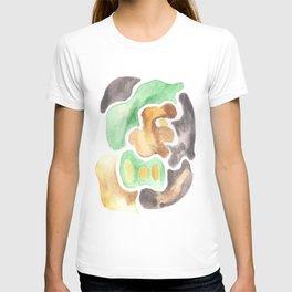 170623 Colour Shapes Watercolor 4    Abstract Shapes Drawing   Abstract Shapes Art T-shirt