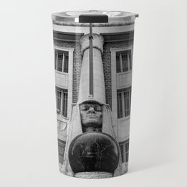 Salt Lake City Masonic Temple Sphinx Travel Mug