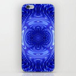 Flow Blue iPhone Skin