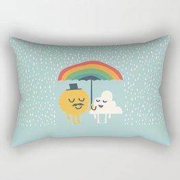 A True Dandy Gentleman Rectangular Pillow
