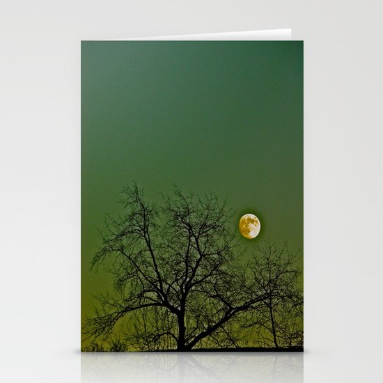 Tangled Tree Moon Stationery Cards