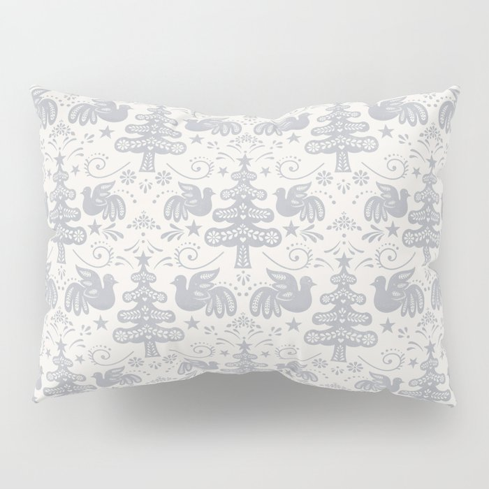 Hygge - Scandinavian Winter (grey) Pillow Sham