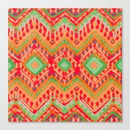 itzel - candy + lime Canvas Print